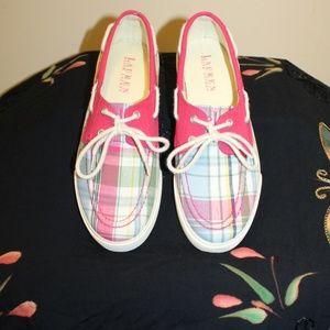 Like New Lauren Ralph Lauren Boat Shoes Women 8